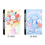 Kpop bts bt21 Paper Lomo Card HD Photocard