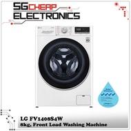 LG FV1408S4W 8KG Front Load Washing Machine - 2 Years Warranty