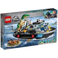 LEGO 76942 侏儸紀世界系列 堅爪龍小艇脫逃【必買站】樂高盒組