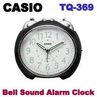 CASIO ALARM CLOCK TQ-369 with 3 MONTH SHOP WARRANTY