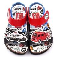 【童鞋城堡】軟木風格涼鞋 Tomica多美小汽車(TM3623-藍)