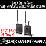 [BMC] BOYA BY-WFM12 VHF Wireless Microphone System