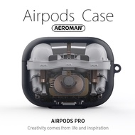 airpods pro 內部拆解 太空人 拆解圖 科技 透明 保護套 宇宙人 防摔  掛鉤版 apple 適用
