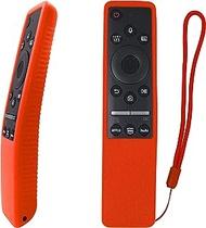 BN59-01312A Smart Voice TV Remote with Silicone Cover Replacement for Samsung QLED 8K 4K TV QN75Q60RAF QN7SQ70R QN75Q60RAFXA QN75Q900RBF QN82Q70RAF QN82Q70RAFXZA QN82Q6DT QN85Q70RAF QN98Q900RBF