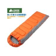 [現貨]LOGOS 日本 LOGOS 6度 抗菌防臭丸洗睡袋 橙/72600880/化纖睡袋/睡袋/登山/露營睡袋