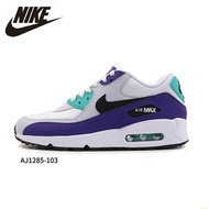 100% Authentic Nike_Air_Max 90 Men Running Shoes New Pattern Air_Cushion Comfortable Breathable Essential Engraved Sneakers#Aj1285-103