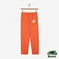 女裝ROOTS - 國際棉褲日系列窄版棉褲-橘