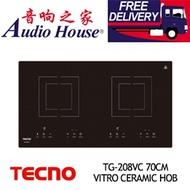 TECNO TG-208VC 70CM VITRO CERAMIC HOB