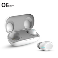 [NEW] OI Teno-SIX True Wireless Earbuds Bluetooth Headphones Earphones Headset Red Dot Design Award 8H Playback Fast Charging One-Step Pairing Touch Control with Volume Control Noise Cancellation Deep Bass with Microphone-Black&White
