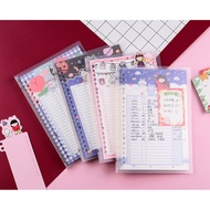 Vocabulary Theme notebook binder w/ colorful cartoon refill 20 holes / 26 holes free ruler