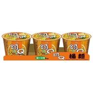 阿Q桶麵_雞汁排骨風味(3碗/組)