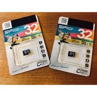SP 廣穎 32G記憶卡 microSDHC 原廠終身保固 Silicon Power