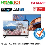SHARP HD LED TV 32 Inch Available in NON-SMART AND SMART