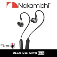Nakamichi DC226 Detachable Bluetooth Dual Driver In-Ear Earphone With Local Warranty