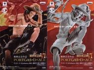 日版金證 頂上決戰6 SPECIAL 特別版 火拳 艾斯 A款+B款 一套兩款 公仔