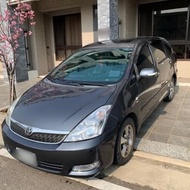 (自售)中古車 2005 年(豐田)TOYOTA WISH  Wish2.0L G版 優質 漂亮七人座 休旅車