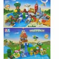 æ! Lego Minecraft My World Treasure Island & Farm Village House Jumbo