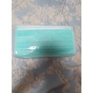 現貨……蓓莉雅大人口罩,綠色,50入/盒