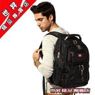 【世昇精品專賣店】SWISSGEAR瑞士軍刀包商務旅行包瑞士軍刀雙肩包男女書包17吋电腦包休閒背包黑色腰包