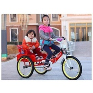 MX 3Wheels Cargo Bike with Passenger Seat