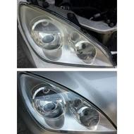 大燈快潔 Mitsubishi 三菱 Outlander PHEV Pajero ASX 原廠大燈泛黃霧化拋光翻新處理