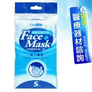 舒潔 菲德 醫療防護口罩 (未滅菌) Flexi Aid MA-001-BL 三層醫用口罩 10包販售