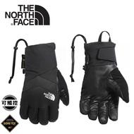 【The North Face 美國 女GORE-TEX防水保暖觸控手套《黑》】3M3E/觸控手套/保暖手套