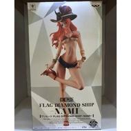 (現貨)日空 金證 海賊王 FLAG DIAMOND SHIP 牛仔 翹腳 娜美