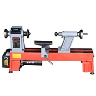 Free Shipping STR1218-A Woodworking Lathe Small Lathe Speed Regulating Micro Machine Tool Woodworking Machinery Lathe Wood Spinning Bead Machine