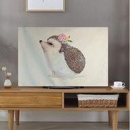 Tv Dust Cover Cute Animal Pig Printing Lcd Screen Protector Cloth Towel 65 Inch