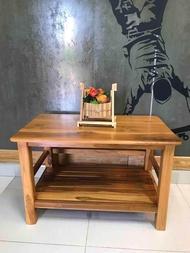 T.T shop เวียงสักงาม โต๊ะ โต๊ะไม้สัก โต๊ะวางทีวี โต๊ะวางทีวีไม้สัก ชั้นทีวี ชั้นวางทีวี โต๊ะกลาง โต๊ะเอนกประสงค์ ขนาด 80*50 สูง 50.cm.งานไม้สักทอง งานไม้สักแพร่ สินค้าคุณภาพ ราคาถูก ผลิตภัณฑ์โอทอปแพร่ สินค้าไม้สักจากโรงงานในจังหวัดแพร่อทอปแพร่