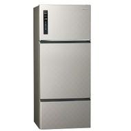 【Panasonic國際牌】481公升三門變頻無邊框冰箱 NR-C489TV-S(銀河灰)