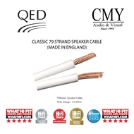 QED Classic 79 Strand (White) Made in UK Speaker Cable (Bare Wire)