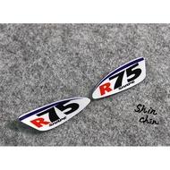 Arai R75頭盔貼紙 ARAI RX7X RR5鏡片貼