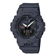 G-SHOCK 運動藍牙雙顯錶 樹脂錶帶 鐵灰 防水200米(GBA-800-8A)