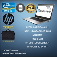 HP EliteBook 840 G1 Touchscreen laptop Intel Core i5 [SECONDHAND/USED/REFURBISHED][GOOD VALUE]