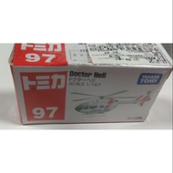 盒損品內容全新 TOMICA NO.97 ( 97-7 ) Doctor Heli