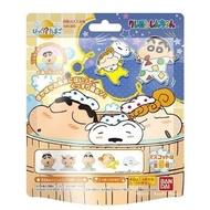 蠟筆小新 日本限定泡澡球 蠟筆小新 家人版 隨機模型小公仔 沐浴香 泡澡球 / 入浴劑 (隨機出貨)