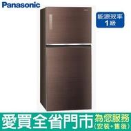 Panasonic國際650L雙門變頻冰箱NR-B659TG-T含配送+安裝【愛買】