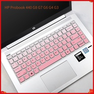 Laptop Keyboard Cover for HP Probook 440 G8 G7 G6 G4 G3 14 Inch HP Pro G1 446 G3S ProBook 445R G6 AMD Version ZHAN 66 Invisible Keyboard High Protector Skin Cover