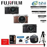 Fujifilm X-E3 / XE3 with 15-45mm Lens + 32GB Memory Card + Camera Bag + Template Glass + Blower & Len Pen Set + Tripod