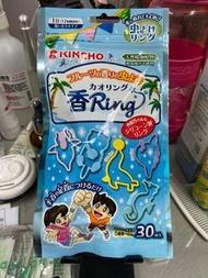 全新日本🇯🇵kincho 金雞牌 防蚊手環(五種圖案30入),一條可使用12小時,綁頭髮、背包、書包、手環、腳踝都行、大人小孩都行,夏天必備