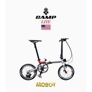 MOBOT CAMP LITE   Foldable Bicycle   9 Speed   9.7kg   16inch