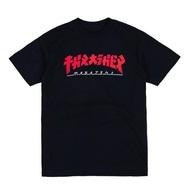 THRASHER GODZILLA 哥吉拉 T-SHIRT-BLACK【HopesTaiwan】