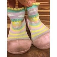 Attipas襪型學步鞋 童鞋 兒童鞋 學步鞋 寶寶鞋 11.5cm 有污