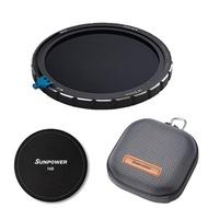 【SUNPOWER】N2 ND32-ND1000 ND+CPL 磁吸式 可調減光鏡+偏光鏡 67-82mm(含磁吸保護蓋 硬殼濾鏡包)