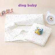 ding baby 純棉紗布大浴巾-粉點-2入/台灣製嬰兒寶寶用品包巾薄被 C-4712928920259
