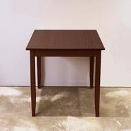 【CiS 自然行】74x74CM原木桌 焦糖色(工作桌 餐桌 鄉村風 手工家具 實木家具  原木傢俱)