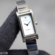 【GZ代購】CITIZEN EZ6360-50D 星辰錶 手錶 14*22mm 方形 小錶面 珍珠母貝面盤 女錶