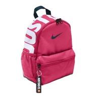 【NIKE 耐吉】後背包 Brasilia JDI Kids BP 雙肩包 上學 外出 旅遊 小包 粉 白(BA5559-674)
